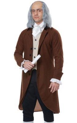Benjamin Franklin Adult Costume