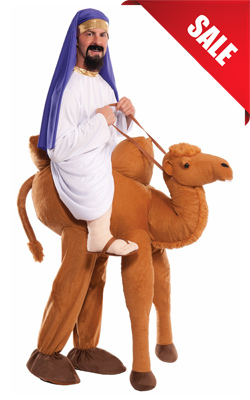 Adult Ride In Camel Costume