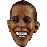 Deluxe Barack Obama Face Mask