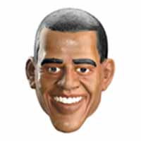 President Barack Obama Halloween Mask