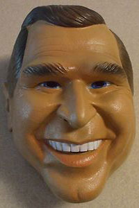 Cesar's George Bush Mask