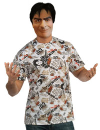 Economy Charlie Sheen Costume Kit