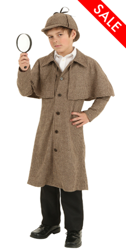 Child Sherlock Holmes Costume for Kids
