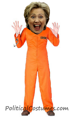 Hillary Orange Prison Jumpsuit