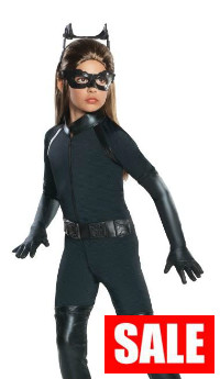 Deluxe Child Catwoman Costume Dark Knight