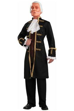 Adult George Washington Costume with Mask