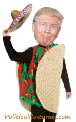 Donald Trump Taco Costume