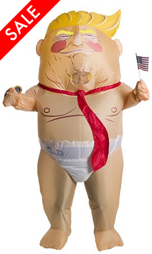 Inflatable Baby Donald Trump Costume