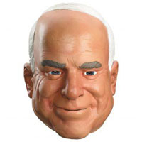 Senatr John McCain Halloween Mask