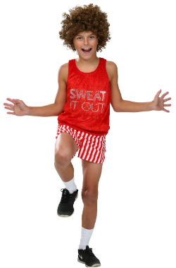 Child Richard Simmons Workout Costume