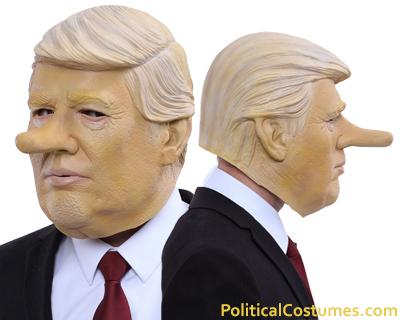 Pinocchio Donald Trump Mask aka Doncchio