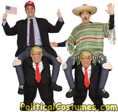 Carry Me President Donald Trump Costume