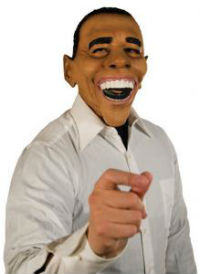 Big Teeth Barack Obama Mask
