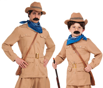 teddy roosevelt costumes