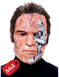 Terminator 2 Mask Arnold Schwarzenegger