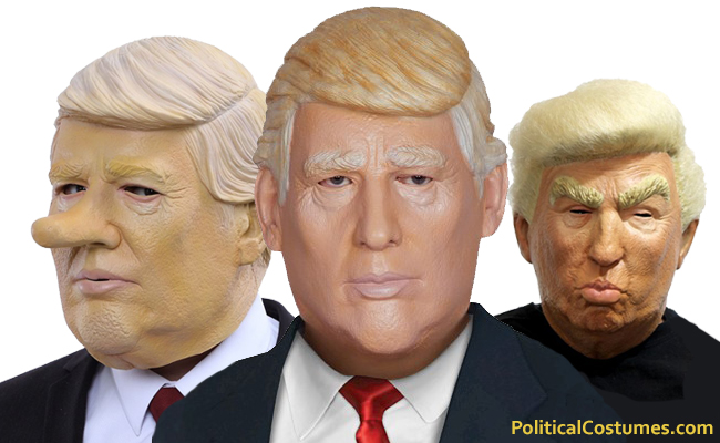 Donald Trump Halloween Masks For Sale Popular Halloween Masks Halloween Costumes