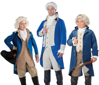 washington costumes