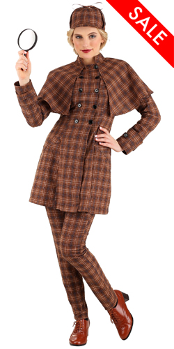 Female Sherlock Holmes Costume for Women