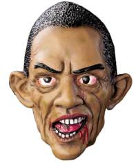 Zombie Barack Obama Halloween Mask